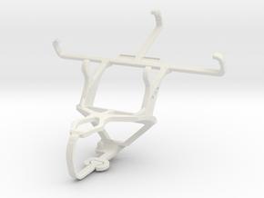 Controller mount for PS3 & Celkon Millennia Hero in White Natural Versatile Plastic