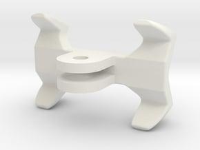GoPro universal flashlight mount in White Natural Versatile Plastic