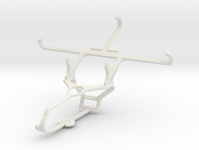 Controller mount for Steam & verykool sl5009 Jet - in White Natural Versatile Plastic