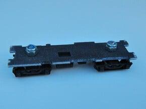CNSM 455 - 456 Under Frame Trucks in Black Natural Versatile Plastic