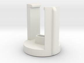 DJI INSPIRE holder for 2 WHITE Propellers in White Natural Versatile Plastic