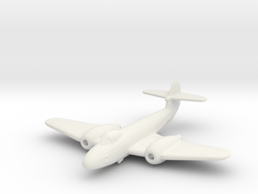 Gloster Meteor F.3 in White Natural Versatile Plastic: 1:200