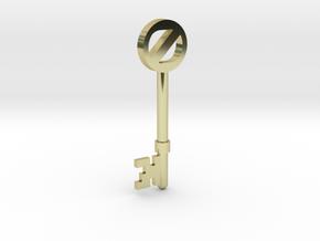 Return To Oz Key in 18k Gold