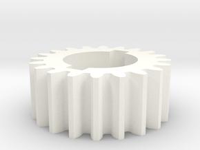 20T Atlas 618/Craftsman 101 Change Gear in White Processed Versatile Plastic