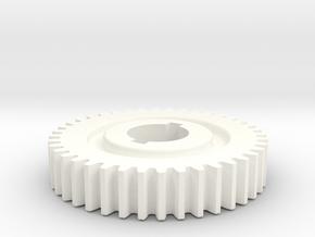 40T Atlas 618/Craftsman 101 Change Gear in White Processed Versatile Plastic