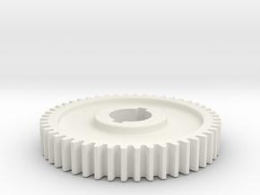 48T Atlas 618/Craftsman 101 Change Gear in White Natural Versatile Plastic