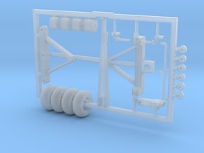 1/64 Wagon Running Gear Kit in Smooth Fine Detail Plastic