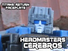 Cerebros, Headmasters Style (Titans Return) in Smooth Fine Detail Plastic