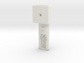 Baby cradle adapter for Quinny Buzz (left) in White Natural Versatile Plastic