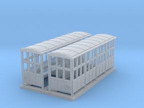 British N-Gauge (1/148) Medium Platform Shelter Op in Smooth Fine Detail Plastic