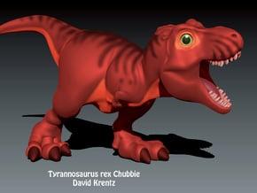 T.rex Chubbie Krentz in White Natural Versatile Plastic