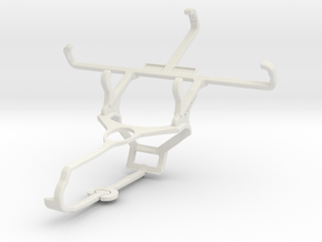 Controller mount for Steam & Celkon Millennia Hero in White Natural Versatile Plastic