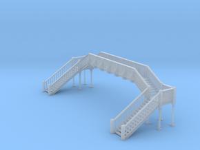 Footbridge Type 2 - N Scale in Smooth Fine Detail Plastic