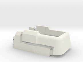 BC Magwell for m4 in White Natural Versatile Plastic