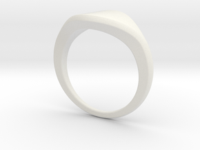 AS JEWELRY in White Natural Versatile Plastic: Small