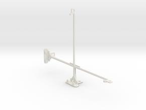 Samsung Galaxy Note 10.1 (2014 Edition) tripod mou in White Natural Versatile Plastic