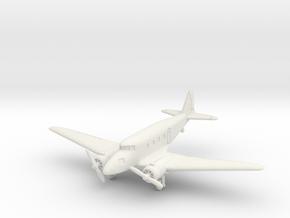 Nakajima Ki-34 Thora 1/200 in White Natural Versatile Plastic