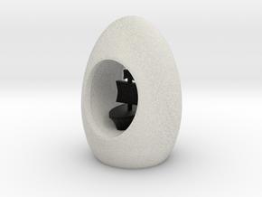 Ibiza Egg in Full Color Sandstone
