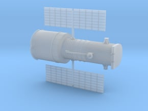 012L Hubble Partially Deployed - 1/200 in Smooth Fine Detail Plastic