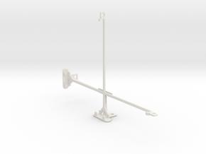 Samsung Galaxy Tab S 10.5 tripod mount in White Natural Versatile Plastic