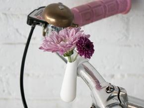 Bud Vase for your Bike in White Processed Versatile Plastic