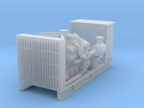 1/64th Diesel Engine Generator w cabinet in Smooth Fine Detail Plastic
