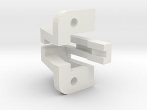 Tektronix 351-0449-00 PCB bracket in White Natural Versatile Plastic