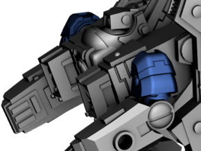 Ripwave Mecha Suit - Alternate Shoulders in Smooth Fine Detail Plastic: d3