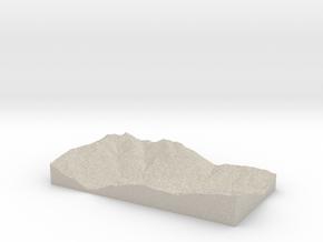 Model of Tessens in Natural Sandstone