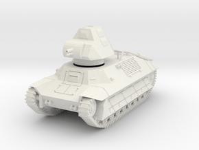 PV146A FCM 36 Light Tank (28mm) in White Natural Versatile Plastic