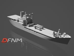 HMAS Tobruk in White Natural Versatile Plastic: 1:700