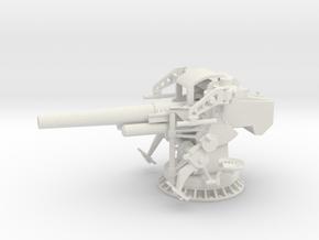 1/32 USN 5 inch 25 GUN MOUNT MARK 40 in White Natural Versatile Plastic
