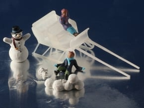 Sleigh HO Scale in Smooth Fine Detail Plastic