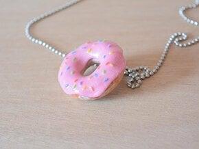 Doughnut in Glossy Full Color Sandstone