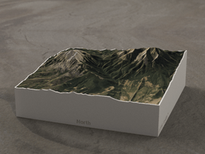 Spanish Peaks, Colorado, USA, 1:100000 Explorer in Full Color Sandstone