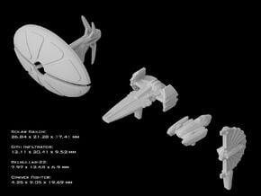 (Armada) Separatist Leaders v1 in Smooth Fine Detail Plastic