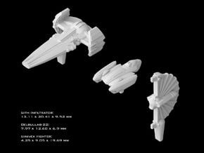 (Armada) Separatist Leaders v2 in Smooth Fine Detail Plastic