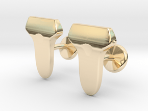 Linear Array Probes in 14k Gold Plated Brass