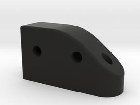 GF5 Front Camber Link Mount in Black Natural Versatile Plastic