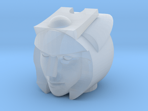 Moonracer Head in Smooth Fine Detail Plastic