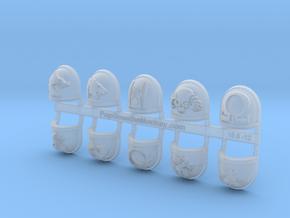 10x Deathwatch - Chapter Origin Set:48 in Smooth Fine Detail Plastic