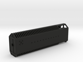 Grammaton Monoblock Mock Silencer - Suppressor in Black Natural Versatile Plastic