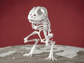 Canvey Island Monster Skeleton in White Natural Versatile Plastic