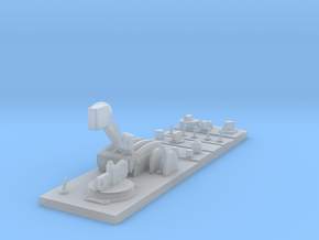 Whirlwind Centre Console (Front part) in Smooth Fine Detail Plastic