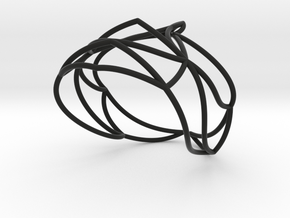 Nouv Bracelet in Black Natural Versatile Plastic