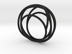 Nouv I (Medium) in Black Natural Versatile Plastic