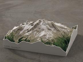 Glacier Peak, WA, USA, 1:50000 in Full Color Sandstone
