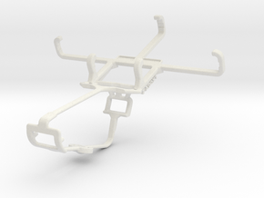 Controller mount for Xbox One & Lava Iris 325 Styl in White Natural Versatile Plastic