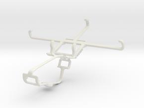 Controller mount for Xbox One & Lava Iris X1 Grand in White Natural Versatile Plastic