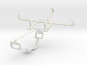 Controller mount for Xbox One & Lava Iris X1 mini in White Natural Versatile Plastic